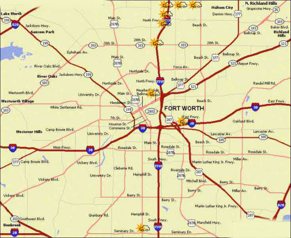 10 Worst Intersections in Fort Worth   Fears Nachawati Law Firm