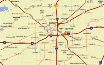 fort-worth-accident-map | Fears Nachawati Law Firm | Fears