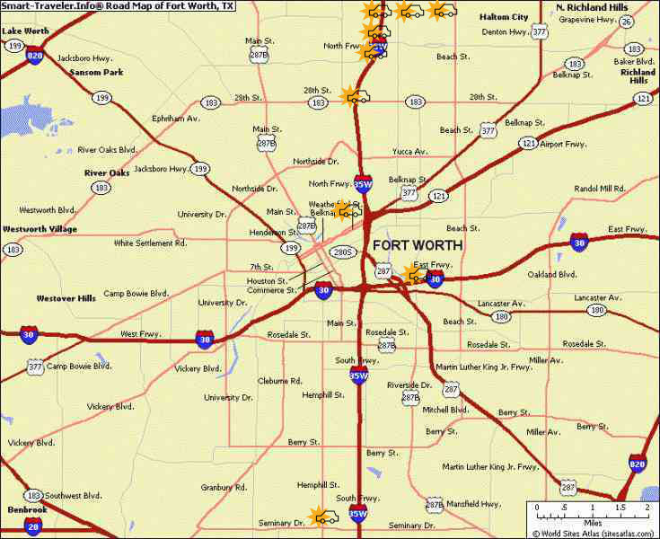fort-worth-accident-map | Fears Nachawati Law Firm | Fears Nachawati ...
